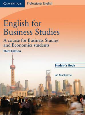 English for Business Studies Student's Book (Paperback)