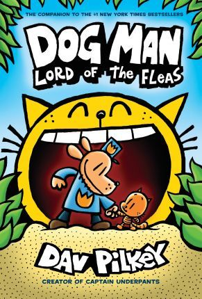 Dog Man 5: Lord of the Fleas (Hardback)