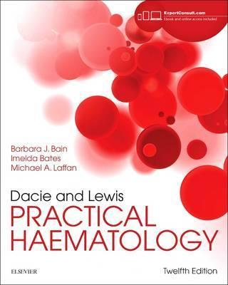 Dacie and Lewis Practical Haematology (Меки корици)