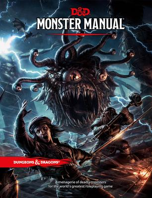 Monster Manual: A Dungeons & Dragons Core Rulebook (Βιβλία με Σκληρό Εξώφυλλο)