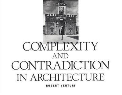Complexity and Contradiction in Architecture (Paperback)
