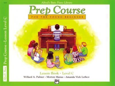 Alfred's Basic Piano Prep Course Lesson Book, Bk C (Paperback)