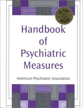 Handbook of Psychiatric Measures