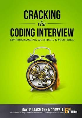 Cracking the Coding Interview (Paperback)