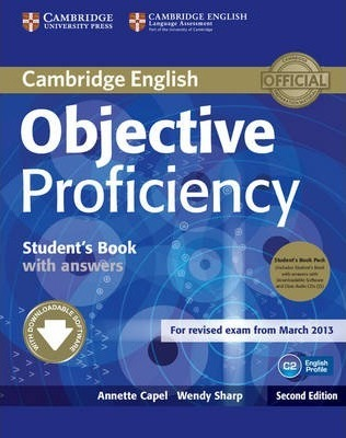 Objective: Objective Proficiency Student's Book Pack (Student's Book with Answers with Downloadable Software and Class Audio CDs (2)) (Смесени медии)