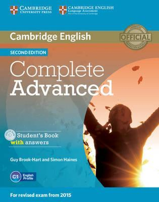 Complete: Complete Advanced Student's Book with Answers with CD-ROM (Смесени медии)