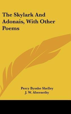 the symbolism in shellys poem adonais Impolite philosophy of life to a critical evaluation on  life to a critical evaluation on percy bysshe shelley's 'ode to  of himself in 'adonais.