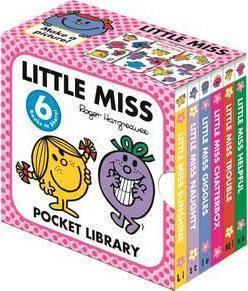 Little Miss: Pocket Library by Roger Hargreaves
