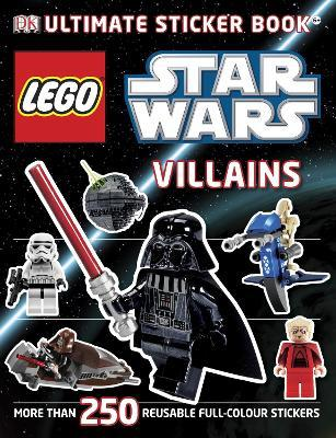 lego (r) star wars villains ultimate sticker book by shari last