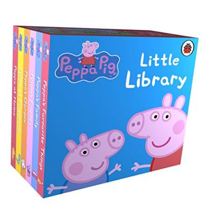 Peppa Pig: Little Library (Board book)