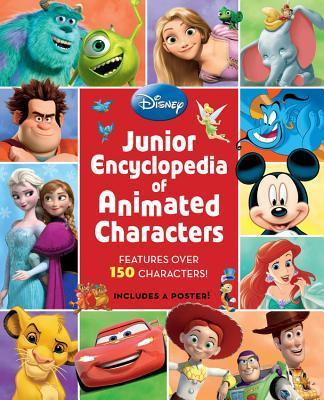 Junior Encyclopedia of Animated Characters by Disney Book Group