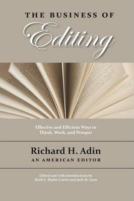 The Business of Editing