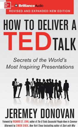 How to Deliver a Ted Talk (CD-Audio)