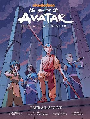 Avatar: The Last Airbender Imbalance - Library by Faith Erin Hicks