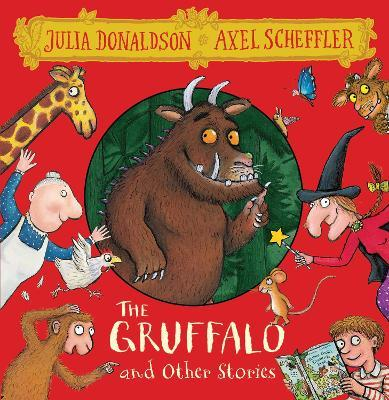 The Gruffalo and Other Stories 8 CD Box Set (CD-Audio)
