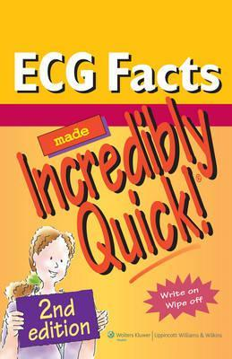 ECG Facts Made Incredibly Quick! (Spiral bound)