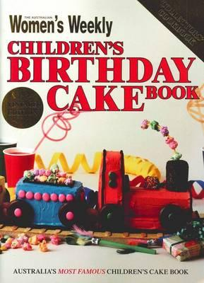 Children's Birthday Cake Book - Vintage Edition (Paperback)