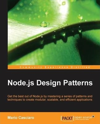 Node.js Design Patterns (Paperback)