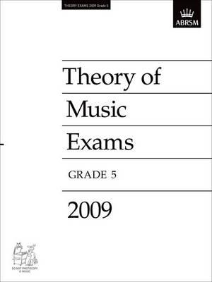 Theory of Music Exams, Grade 5, 2009
