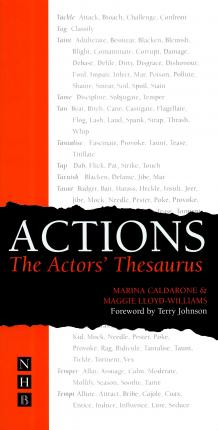 Actions: The Actors' Thesaurus (Paperback)