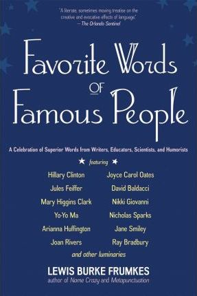 Favorite Words of Famous People (Paperback)