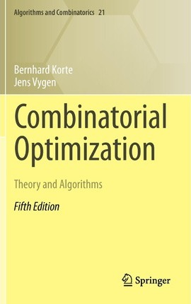 Combinatorial Optimization 2012