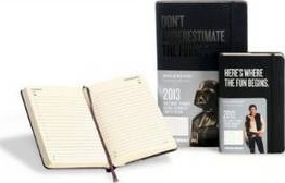 2013 Moleskine Star Wars Large 12 Month Daily Dairy