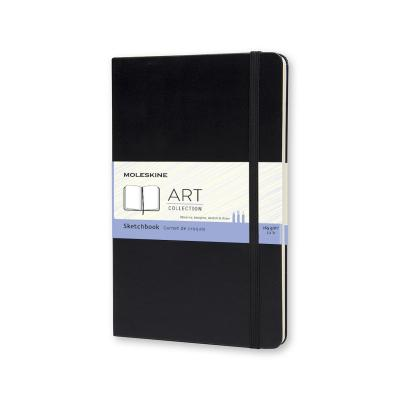 Moleskine Large Sketchbook Black (Notebook / blank book)