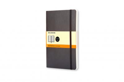 Moleskine Soft Large Ruled Notebook Black (Notebook / blank book)