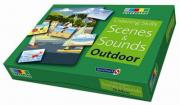 Listening Skills - Scenes and Sounds Outdoor Colorcards   Cards Booklet & CD ...