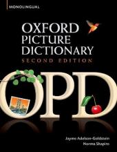 Oxford Picture Dictionary : Monolingual (American English) Dictionary