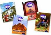 Project X Code Extra: Purple Book Band, Oxford: Wonders of the World and Pyramid Peril, Mixed Pack of 4 Level 8