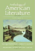 Anthology of American Literature: v. 1