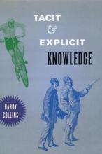 Tacit and Explicit Knowledge