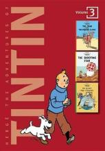 Adventures of Tintin 3 Complete Adventures in 1 Volume: WITH The Shooting Star AND The Secret of the Unicorn
