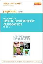 Contemporary Orthodontics - Elsevier eBook on Intel Education Study (Retail Access Card)