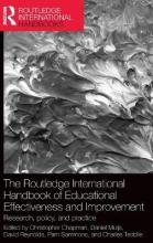 The Routledge International Handbook of Educational Effectiveness and Improvement
