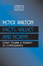 Facts, Values, and Norms