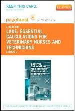 Essential Calculations for Veterinary Nurses and Technicians - Elsevier eBook on Vitalsource (Retail Access Card)