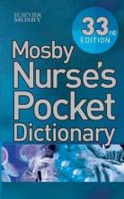 Mosby Nurse's Pocket Dictionary