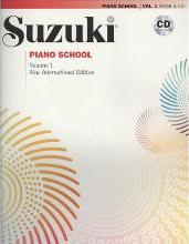 Suzuki Piano School Volume 1 with CD