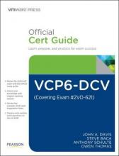 VCP6-DCV Official Cert Guide (Covering Exam #2VO-621)