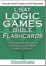 LSAT Logic Games Bible Flashcards