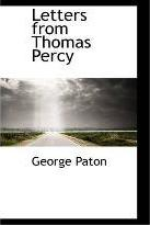 Letters from Thomas Percy