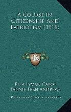 A Course in Citizenship and Patriotism (1918)