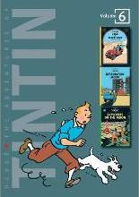 """The Adventures of Tintin: """"Land of Black Gold"""", """"Destination Moon"""", """"Explorers on the Moon"""" v. 6"""