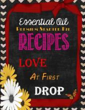 Essential Oil Premium Starter Kit Recipes