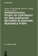 International Study of Copyright of Bibliographic Records in Machine-Readable Form