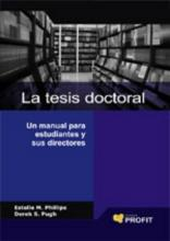La tesis doctoral / How to Get a PhD