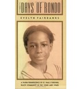 The Days of Rondo  Minnesota   Paperback   Dec 01, 1990  Fairbanks, Evelyn